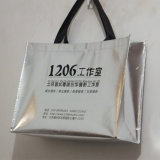 Saco de Tote de compra não tecido da laminação (LJ-153)