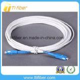 Cordon de connexion de fibre de câble d'interface de Sc/Upc G657A