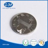 D4*3mm de Zeldzame aarde Gesinterde Magneet van het Borium van het Ijzer van het Neodymium van de Cilinder