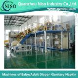 Machine de fabrication de coussin d'incontinence semi-servo chinoise avec Ce (CNK-250)