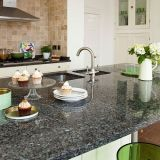 Countertop, Dining Table를 위한 파란 Pearl Granite Slab