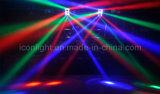 8PCS 10W LEIDEN van de Spin RGBW Bewegend Hoofd voor de Verlichting van het Stadium (pictogram-M080A)