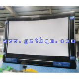 Schermo di pubblicità gonfiabile esterno di alta qualità/film gonfiabile della proiezione