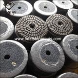 "Wd-10 유연한 대리석 3 단계 다이아몬드 지면 닦는 패드 (4 "" /100mm)"