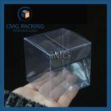 Caixas de empacotamento do animal de estimação plástico desobstruído da alameda para os presentes (CMG-PVC-028)