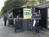 De groot Mobiel Geprefabriceerd/PrefabKoffiebar van de Levering/Huis in de Straat