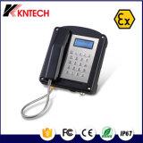 Knex-1 de explosiebestendige Telefoon voor het Gebruik van de Mijnbouw/de Muur zet Landline Telefoon op
