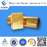 24mic MPET Metalized Gold Film met Eve Glue (1212G)