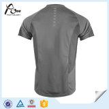 Les T-shirts 100% de polyester vendent des hommes en gros exécutant l'usure