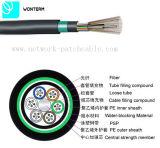 2~288 le faisceau extérieur GYTY53 desserrent le tube échouant le câble de fibre optique