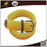 新しい方法は伸縮性があるロープの伸張によって編まれたベルトを編んだ