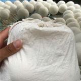 بارعة صناعة 100% صوف مغسل مجفّف لباد كرات