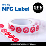 Etiqueta impermeável do telefone do animal de estimação Ntag215 ISO14443A Nfc do Hf