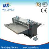 (Wd-CDP500) de Machine van de Pers van het Knipsel van de Matrijs van de Cilinder van de Desktop