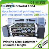 New Design Digital Belt Inkjet Textile Safe Direct to Garment Printer with Star Fire Head