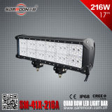 17 Inch 216 W Quad Row LED Light Bar (SM-41X-216A)