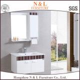 Самомоднейший шкаф зеркала шкафа ванной комнаты PVC (B-8070)