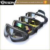 Gray&#160 preto; Vidros táticos da motocicleta da proteção do X.400 de Airsoft da caça