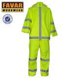 Het in het groot Waterdichte Beschermende Weerspiegelende Kostuum van de Regen Workwear