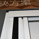 Schermo invisibile della finestra di profilo di alluminio Kz252, rete di zanzara