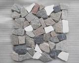 Pizarra de mosaico de pizarra, pizarra de pizarra, panel de pared de pizarra natural / piedra cultivada / Ledgestone