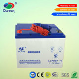 12V 80ah Rechargeable Gel Battery with Long Lifetime