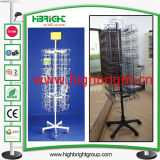 Multi Tiers Wire Stackable Display Storage Basket Stand