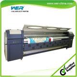 Печатная машина знамени гибкого трубопровода PVC печатающая головка Китая 3.2m Spt510 35pl