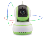câmera do IP de WiFi da segurança Home de 720p HD IR