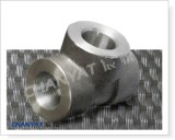 Nickel-Legierung schmiedete passendes T-Stück ASTM B725 Uns N04400, Monel 400