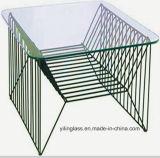 يسترخي بوضوح يقسم طاولة زجاج (نموذج 3)