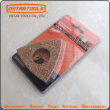 Carburo triangular Grit escofina con Super Cut Arbor