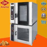 Professioneller einem doppelten Zweck dienender 12 Tellersegment-Elektrizitäts-und Gas-Doppelt-Gebrauch-Brot-Konvektion-Ofen