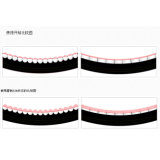 Anti-Abrasive Flexible e Bending Free Industrial Ceramic Lined Mining Hose