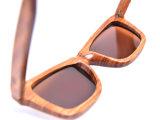 Costume de madeira de China dos óculos de sol dos óculos de sol da zebra do OEM