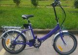 Bicicletta Pocket elettrica di vendita calda 2016 con l'elemento portante posteriore