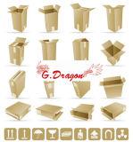Kraft Single-Wall 또는 Double-Wall 물결 모양 상자 (CT1003)