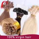 Extensión plana pre consolidada peruana del pelo del ser humano de Remy de la Virgen