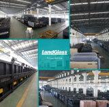 Liso elétrico de Landglass/dobrou a máquina de moderação de vidro