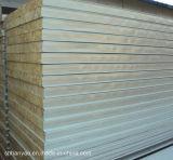 建築材料のプレハブの家のための耐火性の岩綿サンドイッチパネル