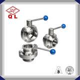 304/316L衛生ステンレス鋼の溶接された蝶弁