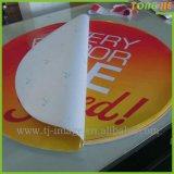 Heißer Verkaufs-Qualitäts-Fußboden, der Vinylaufkleber bekanntmacht
