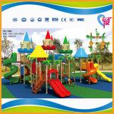 Спортивная площадка темы замока самого низкого цены напольная для парка атракционов малышей (A-7802)