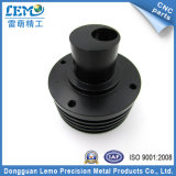CNC Machining Parte com Black Anodized