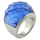 Fabricación de acero inoxidable nuevo anillo joyería Opal