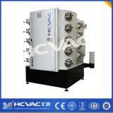 Máquina de la vacuometalización de los hardwares del oro del estaño de Hcvac, máquina de capa del metal PVD