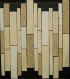 Mattonelle naturali della pietra del mosaico dell'anti di slittamento casa della decorazione (FYSN093)