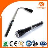 Éclairage LED télescopique d'éclairage LED de 3 DEL de travail de lampe-torche magnétique d'outil