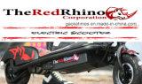 赤いReddieの極度涼しいタイプ2の車輪の電気スクーター