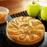 円形のアップルパイのための特別なアルミホイルの容器